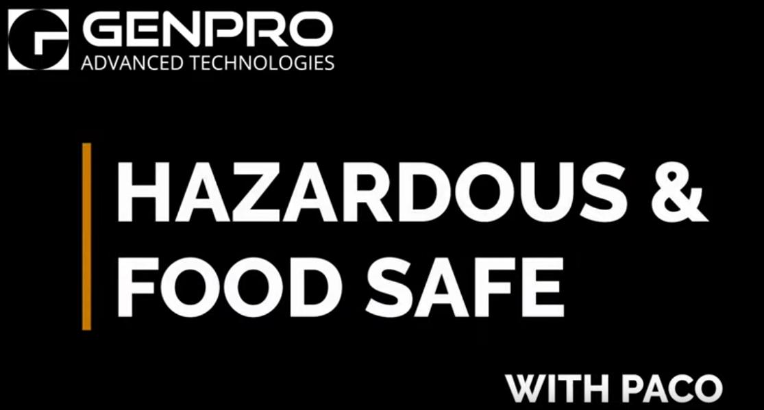 Hazardous and Food Safe LED Lights