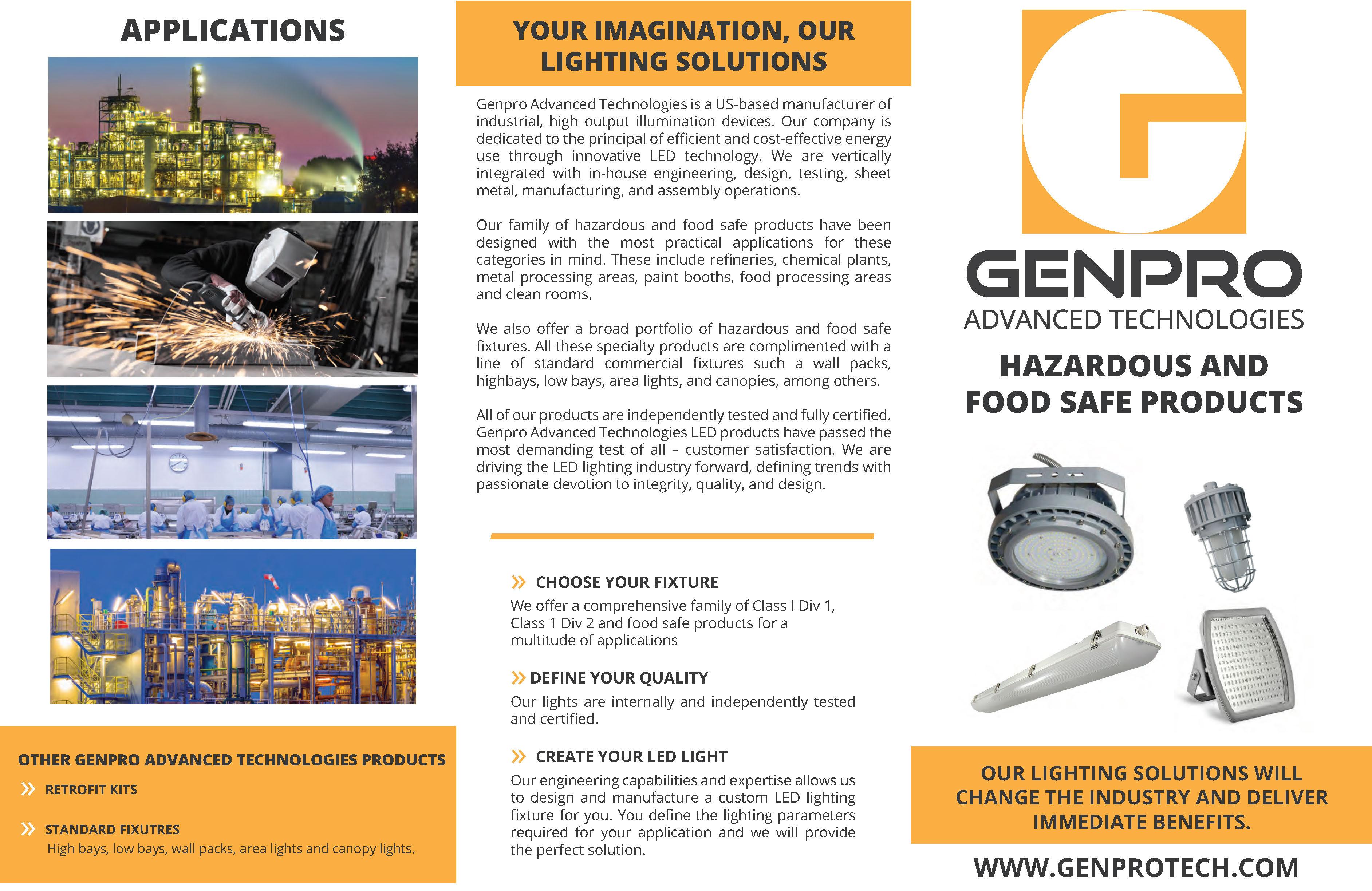 Hazardous and Food Safe LED