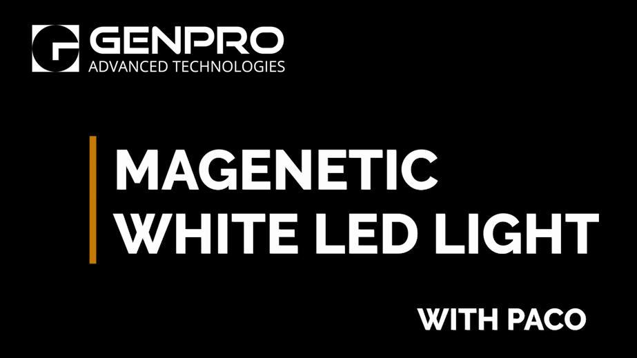 Magnetic White LED Light