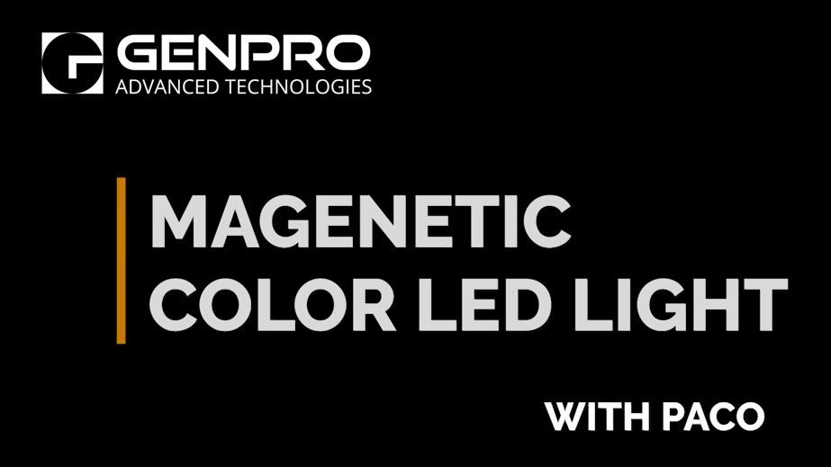 Magnetic Color LED Light